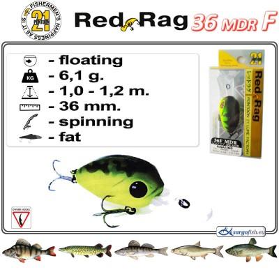 RED RAG MDR 36F