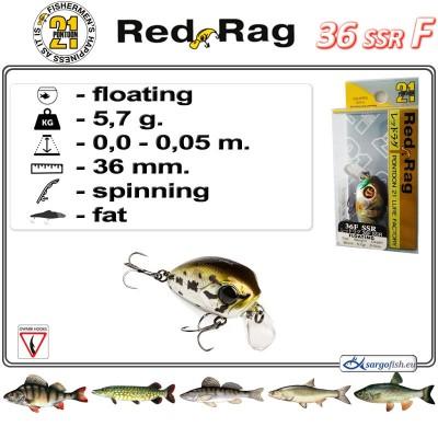 RED RAG SSR 36F