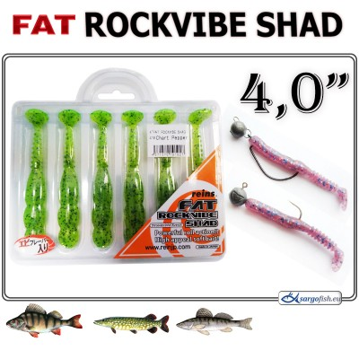 FAT ROCKVIBE SHAD 4.0