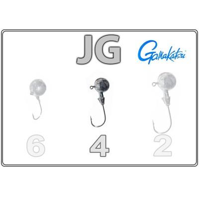 Džīgu galvas JG 4 ar Gamakatsu āķi