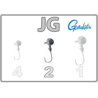 Džīgu galvas JG 2 ar Gamakatsu āķi