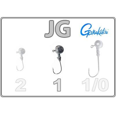 Džīgu galvas JG 1 ar Gamakatsu āķi