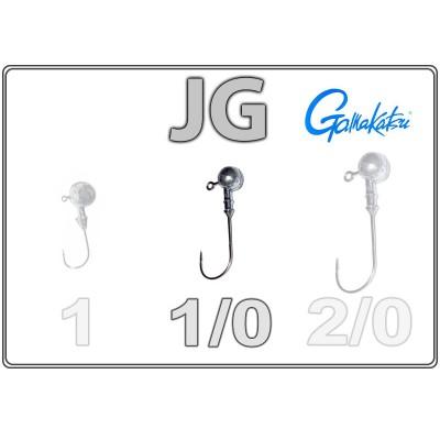 Džīgu galvas JG 1/0 ar Gamakatsu āķi