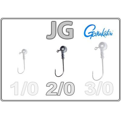 Džīgu galvas JG 2/0 ar Gamakatsu āķi