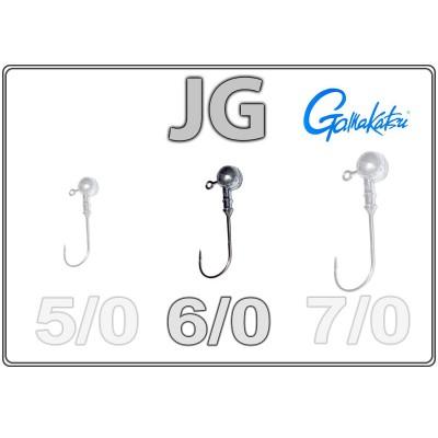 Džīgu galvas JG 6/0 ar Gamakatsu āķi