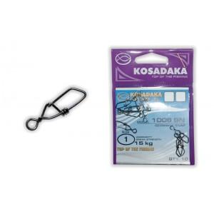 Застёжка KOSADAKA 1006 (1, тест 15 кг, в уп.: 10 шт.)