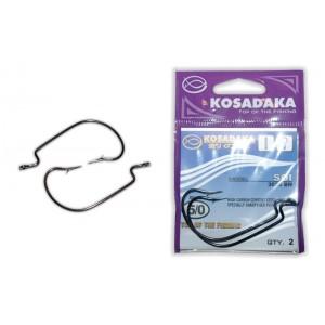 Крючки KOSADAKA Soi 3025 (Nr.: 5/0, цв.: BN, в уп. 2 шт.)