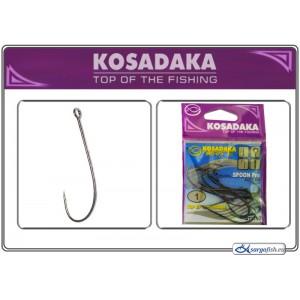 Крючки KOSADAKA Spoon PRO 3077 (Nr.: 01, цв.: BN, в уп. 10 шт.)