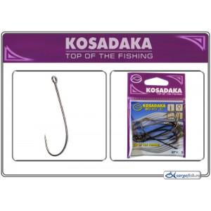 Крючки KOSADAKA Spoon PRO 3077 (Nr.: 2/0, цв.: BN, в уп. 9 шт.)