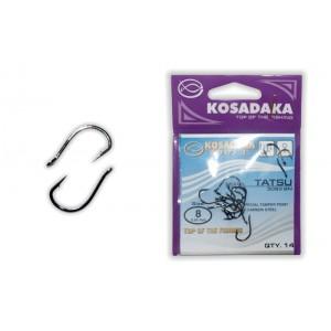 Крючки KOSADAKA Tatsu 3093 (Nr.: 08, цв.: BN, в уп. 14 шт.)