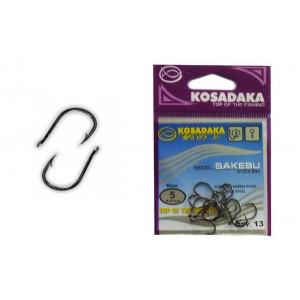 Крючки KOSADAKA Sakebu 3123 (Nr.: 05, цв.: BN, в уп. 13 шт.)