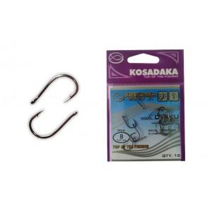 Крючки KOSADAKA Otaku 3303 (Nr.: 08, цв.: BN, в уп. 15 шт.)