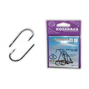 Крючки KOSADAKA Baitholder 3505 (Nr.: 06, цв.: BN, в уп. 7 шт.)