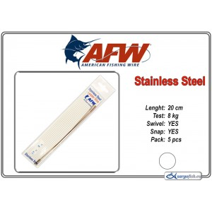 Pavadiņa AFW Stainless STRING (20.0 - 8.0)