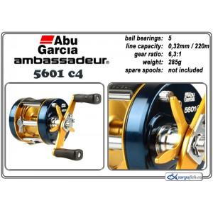 Spole ABU GARCIA Ambassadeur Classic C4 - 5601