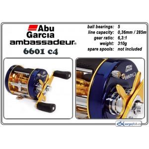 Spole ABU GARCIA Ambassadeur Classic C4 - 6601
