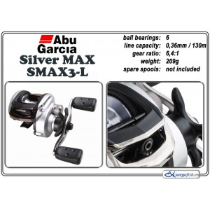Spole ABU GARCIA Silver MAX SMAX3 - L