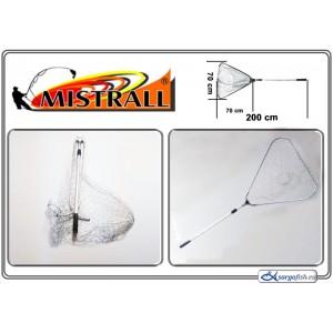 Подсачек MISTRALL (длина: 2.00м, размер: 70х70см, секций: 2)