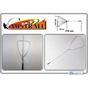 Подсачек MISTRALL (длина: 1.70м, размер: 60х45см, секций: 1)