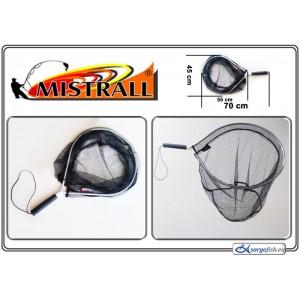 Подсачек MISTRALL (длина: 0.70м, размер: 55х45см, секций: 1)