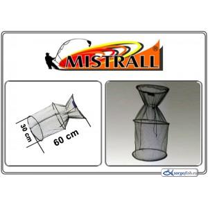 Садок MISTRALL (сетка: 4мм, размер: 30x60см)