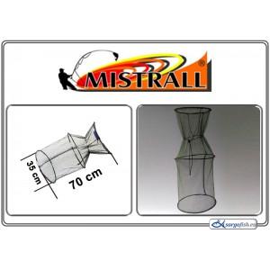Садок MISTRALL (сетка: 3мм, размер: 35x70см)