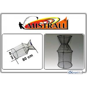 Садок MISTRALL (сетка: 3мм, размер: 40x80см)