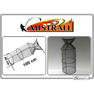 Садок MISTRALL (сетка: 5мм, размер: 40x100см)