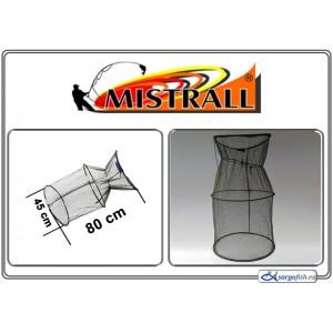 Садок MISTRALL (сетка: 4мм, размер: 45x80см)