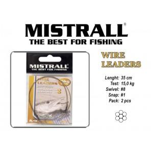 Поводок MISTRALL 1x7 (15.0 - 35)