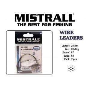 Pavadiņa MISTRALL 1x7 (20.0 - 25)