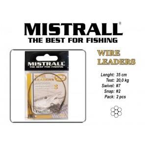 Pavadiņa MISTRALL 1x7 (20.0 - 35)