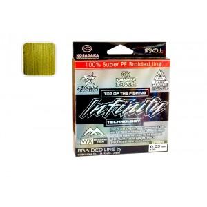 Pītā aukla KOSADAKA Infinity green - 0.03