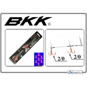 Āķi BKK Stinger RIG UV - 2/0