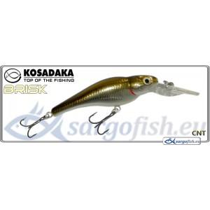 Воблер KOSADAKA «BRISK» XL 55F - CNT