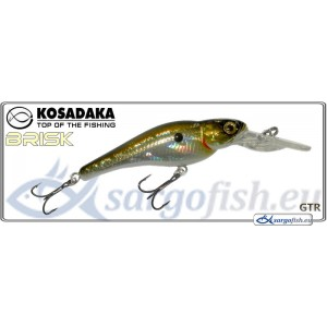 Воблер KOSADAKA «BRISK» XL 55F - GTR