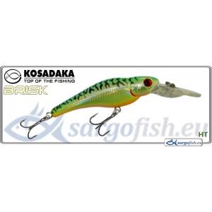 Воблер KOSADAKA «BRISK» XL 55F - HT