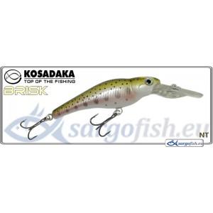 Воблер KOSADAKA «BRISK» XL 55F - NT