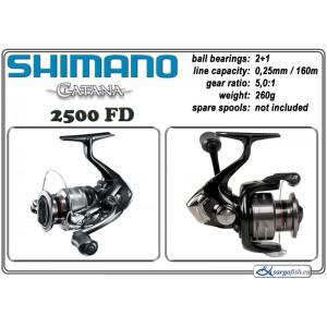 Spole SHIMANO Catana - 2500 FD