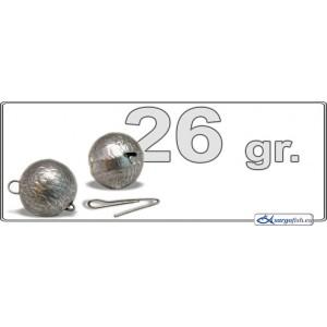 Грузик для джига CH 26 (вес.: 26гр., разборный, в уп. 1 шт.)