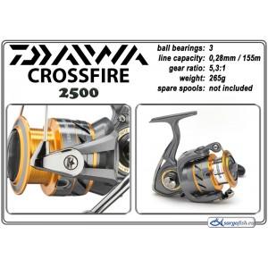 Катушка DAIWA «CrossFire» - 2500