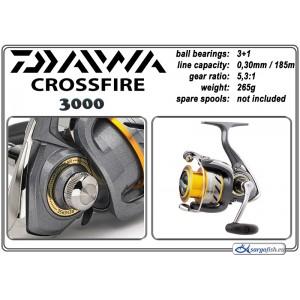 Катушка DAIWA «CrossFire» - 3000