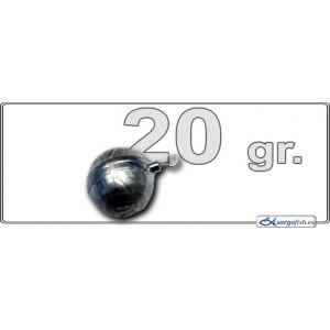 DropShot грузик BALL 0320 (вес.: 20гр.,шар с вертлюгом, в уп. 1 шт.)