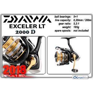 Катушка DAIWA «Exceler» LT - 2000D