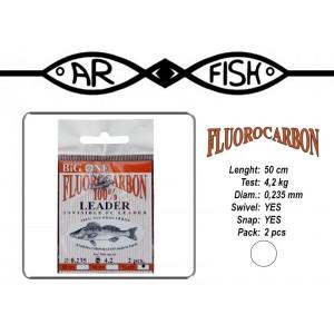 Pavadiņa AR FISH Fluorocarbon 0.235 - 50