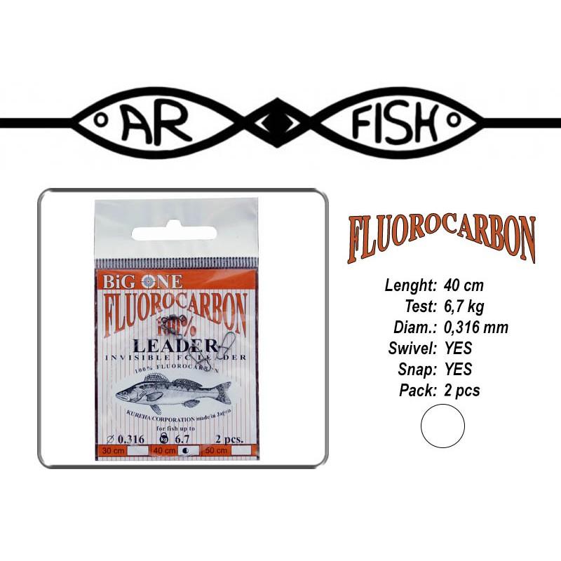 Pavadiņa AR FISH Fluorocarbon 0.316 - 40