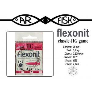 Поводок AR FISH «Flexonite CLASSIC JIG game» 7x7 (0.270 - 25)