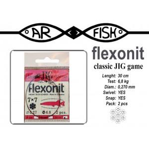 Pavadiņa AR FISH Flexonite CLASSIC JIG game 7x7 (0.270 - 30)