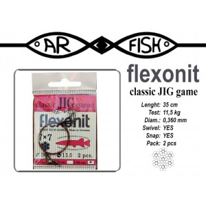 Pavadiņa AR FISH Flexonite CLASSIC JIG game 7x7 (0.360 - 35)