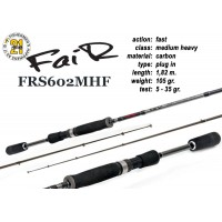 Спиннинг Pontoon21 FAIR 602 MHF (Секций:2, длина:1.82м, тест:7.0 - 35.0 гр.)